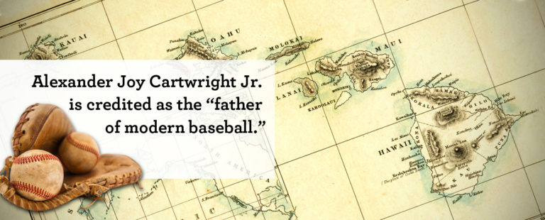 Alexander Joy Cartwright Jr., Father of baseball, once a Wells Fargo team member