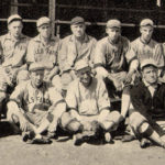 The Wells Fargo Express baseball team in St. Louis in 1915.