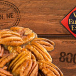 Wells Fargo records show a shipment of 800 pounds of pecans from Oklahoma to Lincoln, Nebraska.