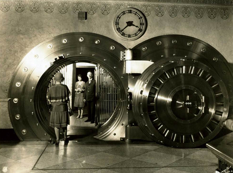 United States National Bank of Denver Colorado Safe Deposit Vault