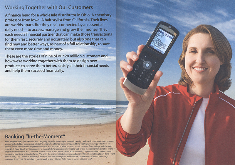 Wells Fargo Mobile Banking Annual Report 2007