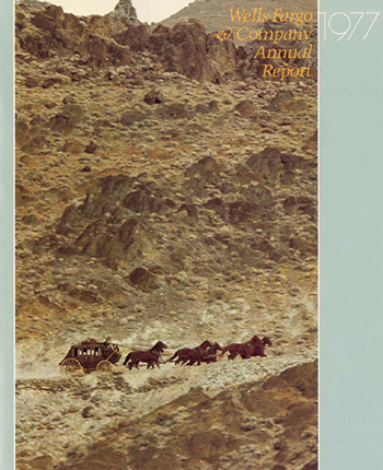 Wells Fargo & Company Annual Report 1977